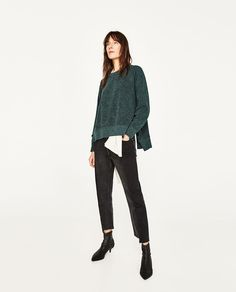 Image 1 of FRILL SWEATER from Zara