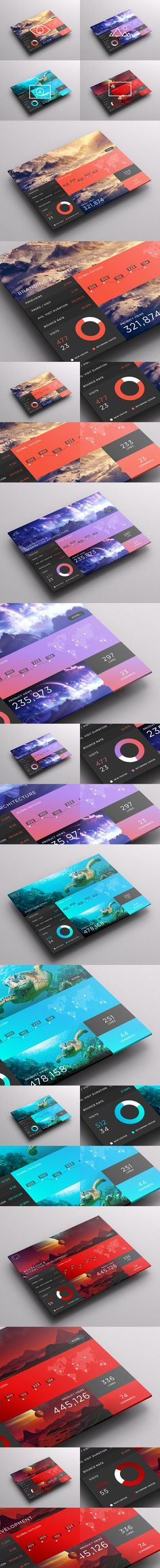 SJQHUB™ // Visual Data UI dashboard. Also, wouldn't it be nice a tablet with a real full size screen?. If you like UX, design, or design thinking, check out theuxblog.com