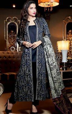 Gul-Ahmed-Jacket+Suits-Coat+Kameez-Open+Double+Shirts-8.jpg (376×600)