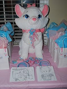Aristocats birthday theme