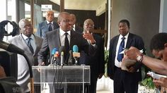 A la demande du Front Populaire Ivoirien (FPI), le Ministre d'Etat, ministre de l'Intérieur et de la sécurité, Hamed Bakayoko a discuté des modalités du retour des exilés et refugiés ivoiriens, militants, sympathisants, et cadres du FPI qui se sont retrouvés en exil dans certai