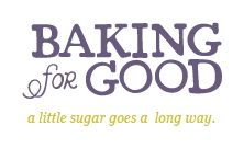 Baking for Good sells gourmet cookies and brownies for nationwide delivery for all occasions. 15% of every purchase supports a charity you choose.