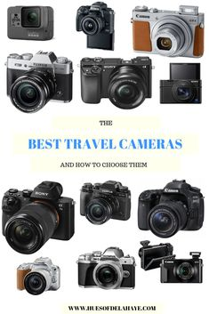 Buying your first camera for travelling is not an easy job. You want to get your hands on the best travel camera that will be suitable for your travel needs. If this is your first travel camera, it… Travel Photography Tumblr, Photography Beach, Dslr Photography Tips, Photography Classes, Photography Hashtags, Photography Backdrops, Good Cameras For Photography, Photography Essentials, Wedding Photography