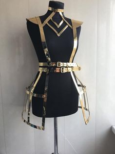 Lingerie harness physique harness attractive dance costumes attractive lingerie pageant carrying collectively for dance photoshoot bdsm High Fashion, Womens Fashion, Fashion Goth, Fashion Models, Steampunk Fashion, Celebrities Fashion, Character Outfits, Festival Wear, Mode Inspiration
