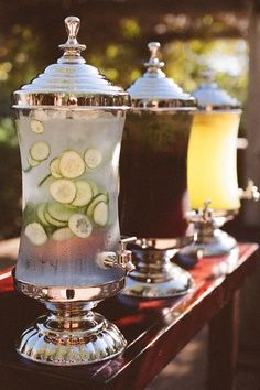 non - alcoholic drink station