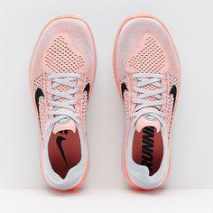 Nike Womens Free Run Flyknit 2018 - Crimson Pulse/Black-Pure Platinum