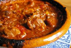 Morrocan Lamb Tagine - made a variation on this last night :-)