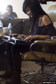 the making of my favorite song by her, everybody breaks a glass :)