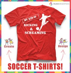 kids soccer tshirt soccer custom t shirts design ideas for your team design