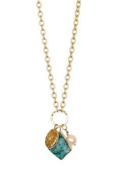 Lori Leavitt Art Nouveau Drusy Necklace by Blowout on @HauteLook
