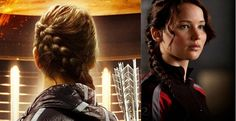 hunger games side braid