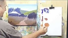 moore method of painting - YouTube