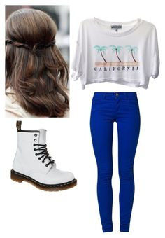 """Kelli burgland( Bree Lab Rats)"" by catcher2814 ❤ liked on Polyvore featuring ONLY, Dr. Martens and Wildfox"