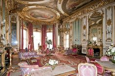 The Elizabeth Saloon Classic Interior, Luxury Interior, Interior And Exterior, French Rococo, Rococo Style, Castle Drawing, Drawing Room, Palaces, Beautiful Interiors