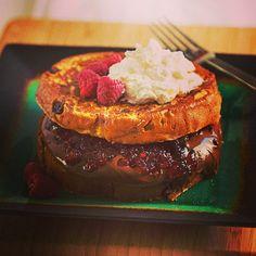 Delicious Nutella and Raspberry Jam French Toast #Baulirecipe