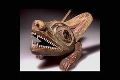 Tlingit wolf spirit mask. 19th century. AMNH collection. @cargocultist