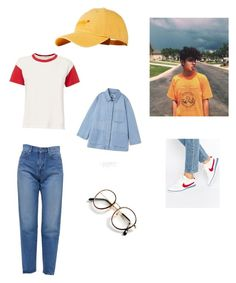 """IDLE TOWN by Conan gray"" by thecolorfulminds on Polyvore featuring rag & bone, Superdry, NIKE, Yves Saint Laurent and Vintage"