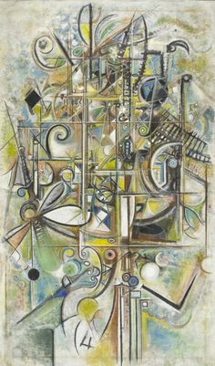 Richard Warren Pousette-Dart (June 1916 – October was an American artist most recognized as a founder of the New York School of painting. His artistic output also includes drawing, sculpture, and fine-art photography. Abstract Images, Abstract Art, Abstract Paintings, Action Painting, Art Academy, Art Archive, Abstract Expressionism, Fine Art Photography, Online Art