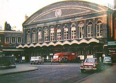 Fenchurch Street Station 1960s