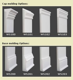 Types Of Baseboard Molding Base Moulding Ideas