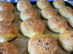 Bezlepkové housky Hamburger, Gluten Free, Bread, Cake, Fitness, Desserts, Food, Glutenfree, Tailgate Desserts