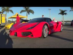 ER W70 American Supercar LS7 Powered Monster! Unveiled for public From Exotic Rides & HPDE - YouTube