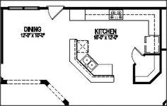 house plan with open corner kitchen   Top 5 Corner Pantry Kitchen Ideas   2013 Kitchen Design Ideas
