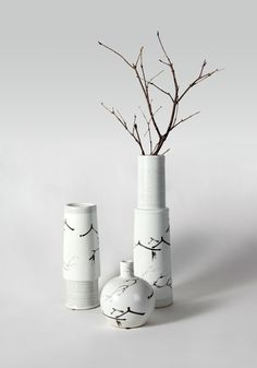 ceramic sculpture deco branch bird transparent acrylic metal screen luxury zen style floriculture tea ceremony 装饰 陶瓷 书法 摆件 屏风 鸟 透明 金属 亚克力 奢华 禅意空间 花艺 茶道