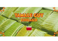 Tamale Guy Chicago Sweet Tamales, Corn Tamales, Chicken Tamales, How To Make Salsa, The Second City, Vegan Options, Chicago, Stuffed Peppers, Guys