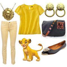 dress like the lion king simba