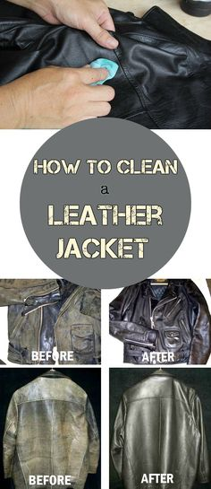 How to clean a leather jacket - CleaningTutorials.com