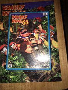 Old Donkey Kong Country Puzzle http://goo.gl/9NJBSA  #DonkeyKongCountry #DonkeyKong #SuperNintendo #snes #puzzle