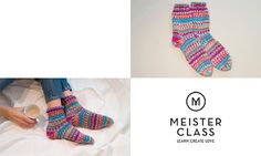 MEISTERCLASS Socken stricken Online-Kurs