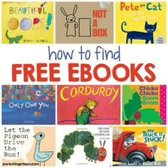Finding FREE eBooks for Kids - AMAZINGLY HUGE RESOURCE!!!