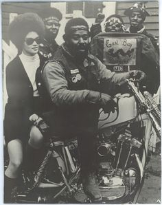 vintage everyday: All-Black Biker Gang – Awesome Pictures of The East Bay Dragons Motorcycle Club of Oakland, California from Between the 1950s and 1970s