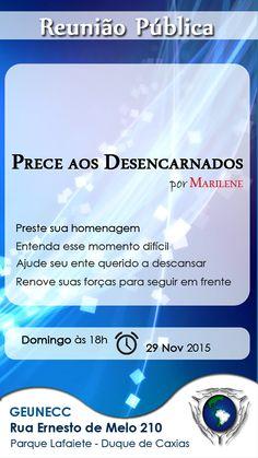 GEUNECC – Grupo Espírita Unidos em Caridade com Cristo Convida para a sua Palestra Pública - Duque de Caxias - RJ - http://www.agendaespiritabrasil.com.br/2015/11/28/17500/