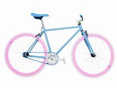 Wizard Industry Fixie Helliot Soho 5309 - Bicicleta, piñón fijo, flip-flop, multicolor