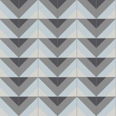 Using a varied palette, Micaela Clark ups the glamour of Santander, turning it into a bold showpiece that demands attention. Tile photo, Granada Tile.