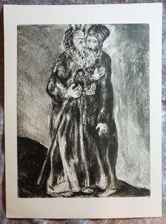 1956 Original Verve,  Marc Chagall, Religious Art, Biblical Art,  #28 Verve Art