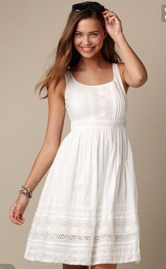 160 simple summer wedding dresses 2017 trends and ideas Sun sun dresses plus size sun dresses with sleeves sundress outfits sundresses dresses sundresses for weddings dresses sundresses Wedding Invitations Trends 2019 Simple Dresses, Pretty Dresses, Casual Dresses, Fashion Dresses, Dresses With Sleeves, White Dress Casual, Simple Dress Casual, Casual Outfits, White Eyelet Dress