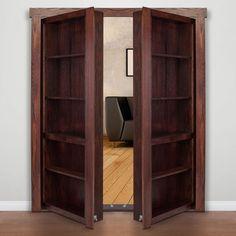 French Door Style Murphy Door   Replace The Closet Doors!