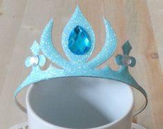 Frozen Crown Headband /Cinderella Crown/Tiara por MyPartyStory