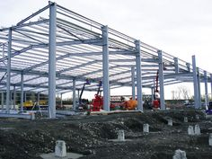 No project is big or small, we are always ready with valuable assistance in steel erectors. Our staff is well versed in sequencing, coordination including erection planning, crane & project logistics. Visit our website for more information. Steel Erectors, Construction Materials, Cleveland Ohio, Crane, Louvre, Website, Big, Building, Buildings