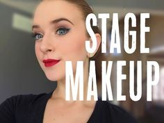 """In this tutorial I show you how to do a basic theatrical makeup. This is also known as a basic """"pretty"""" stage makeup. It will help your expressions read from..."""