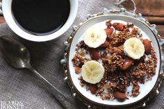 Ginger Quinoa Granola {Beard and Bonnet} #glutenfree #vegan