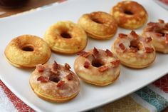 It's a cause for celebration! Not only is it Friday today, it's also National Donut Day. Time to whip out the donut maker and crank up the heat, because it's donuts for breakfast this morning. These donuts are soincredibly simple. All in all, it takes about 5 minutes to get the batter put together, and …