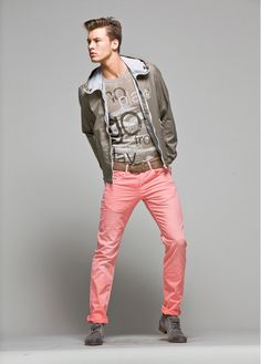 Alfred Kovac Mixes Color for Love Moschinos Pre Spring 2013 Lookbook
