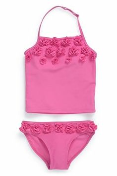 4bd5786127ad2 Buy Flower Tankini (3-16yrs) from the Next UK online shop Baby Swimwear