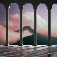 Inspiration for those who want some wallpaper/background covers for your phone or computer, I got you ✨ Greek Gods, Aesthetic Pictures, Aesthetic Wallpapers, Beautiful Places, House Beautiful, Scenery, Landscape, Architecture, Nature