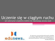 nauka-mobilna-presentation by Marcin Polak via Slideshare